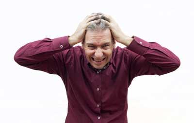 caduta capelli stress