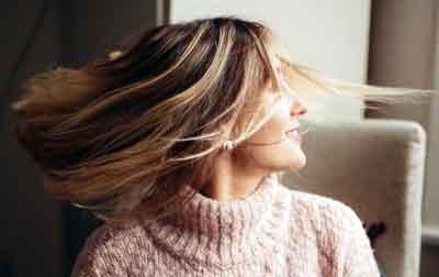 capelli donna puliti